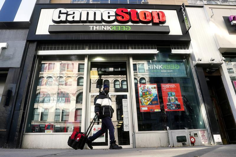GameStop bears use options to profit from stock's plunge