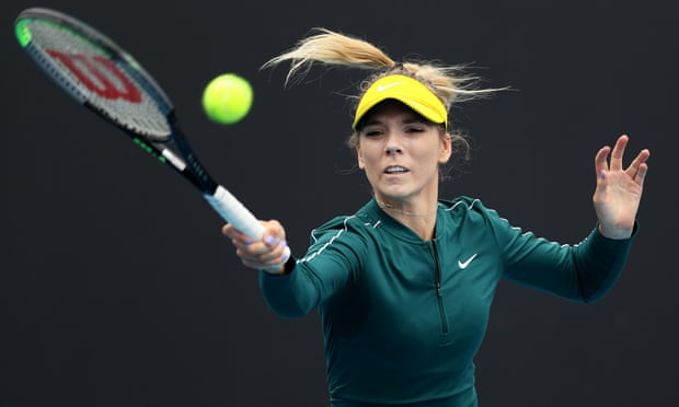 Katie Boulter upsets Coco Gauff in Australian Open warm-up event