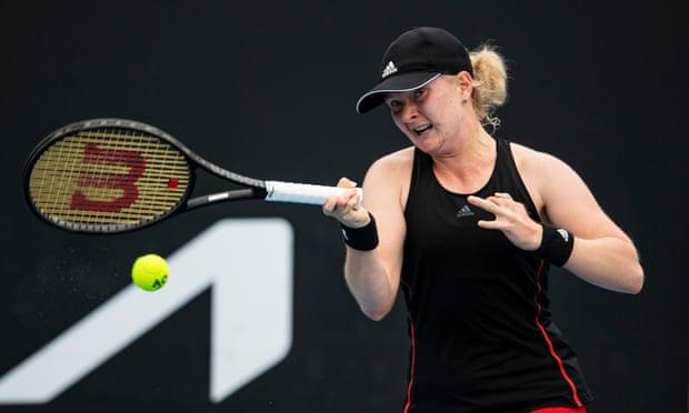 Francesca Jones shows patience in face of a flurry of attention in Melbourne